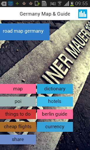德国离线路线图指南