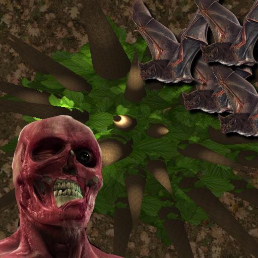 殭屍森林陀螺儀3D LOGO-APP點子