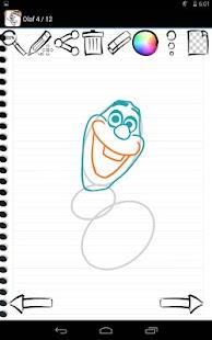 Apprendre a dessiner olaf - Dessiner olaf ...