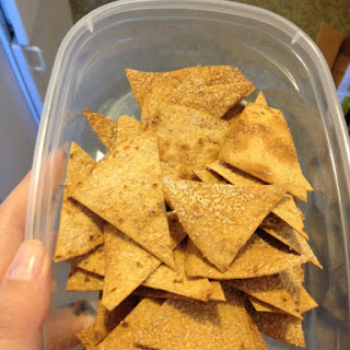 Low Carb Tortilla Chips!