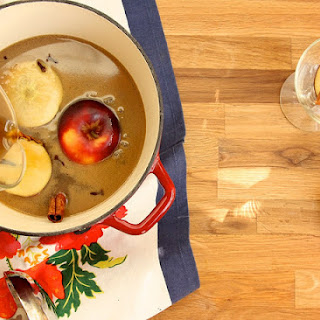 Hot Buttered Rum and Cider