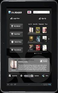 DNL eBook Reader - screenshot thumbnail
