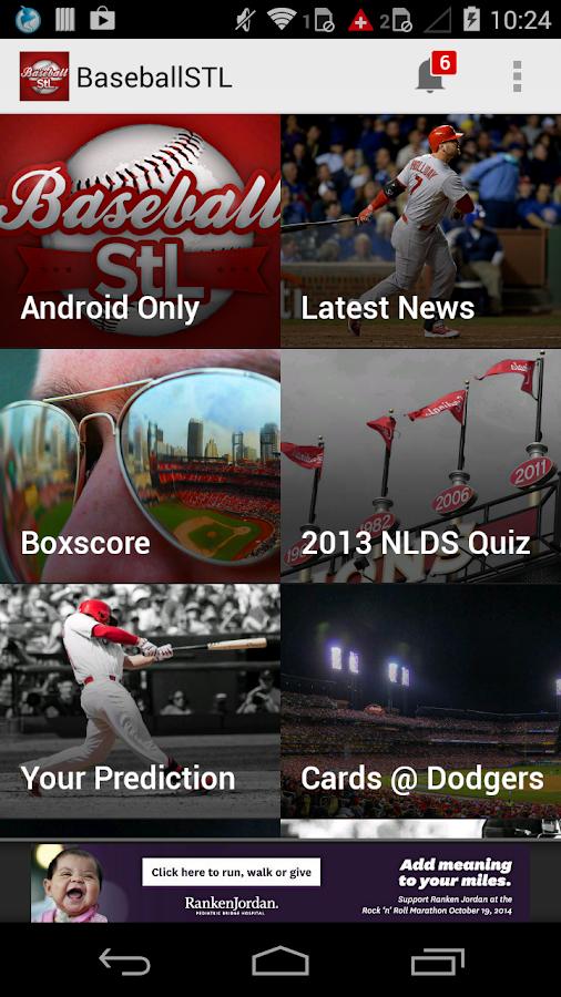 BaseballStL St. Louis Baseball - screenshot