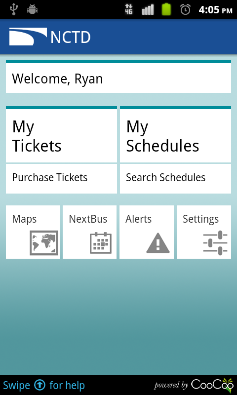 COASTER Mobile Tickets - screenshot