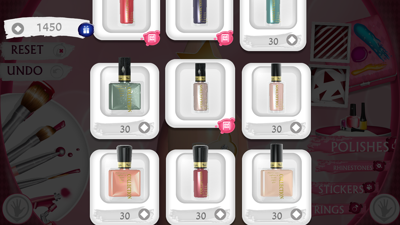 Cute Nail Art Designs Game 3D- screenshot