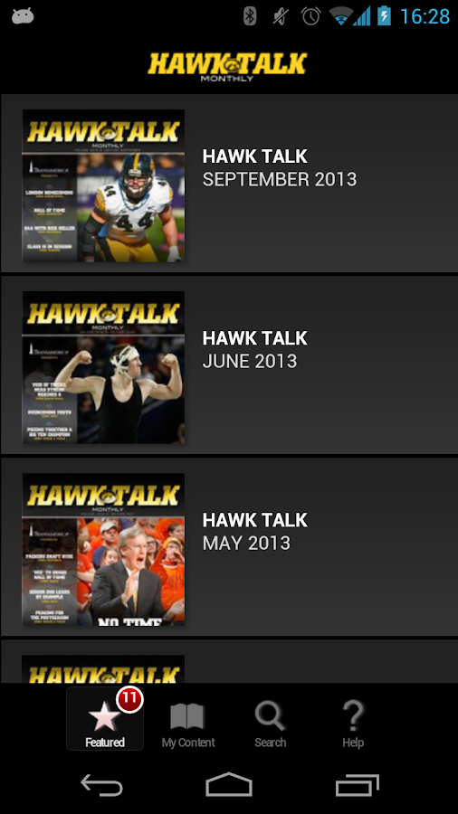 Hawk Talk Monthly - screenshot