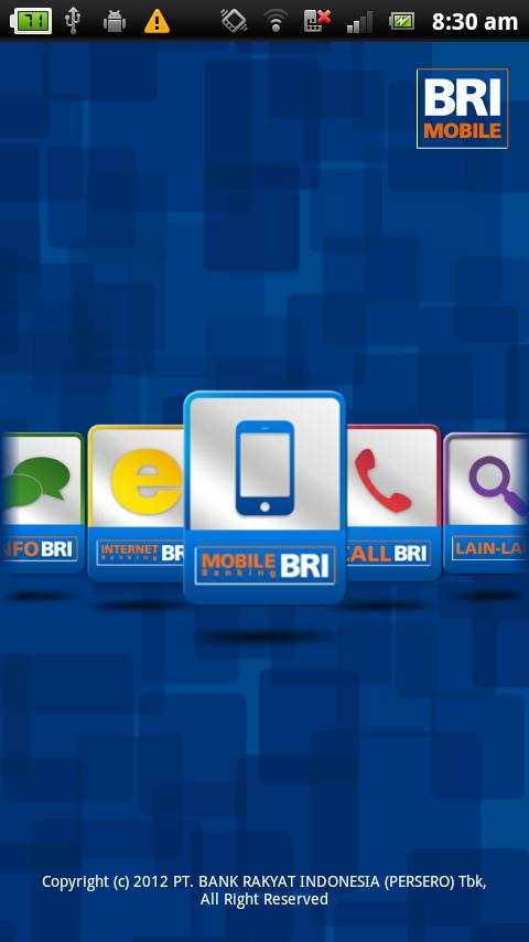 BRI Mobile - screenshot