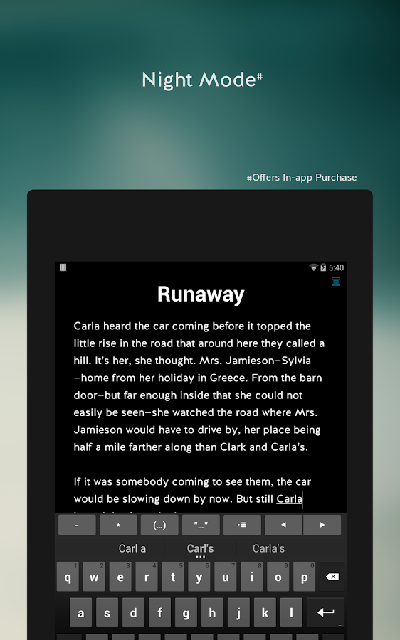 JotterPad X: Writer - screenshot