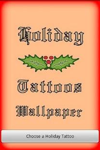 Holiday Tattoos- screenshot thumbnail