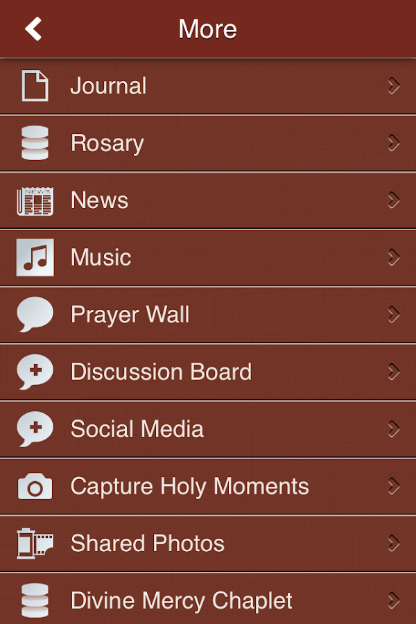 Catholic Mega App- screenshot