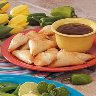 Seafood Triangles.