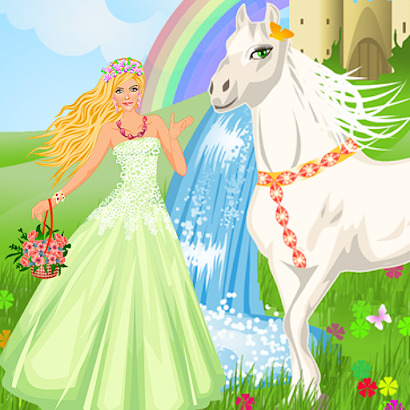 Princess And Her Magic Horse screenshot