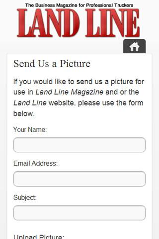 Land Line Magazine- screenshot