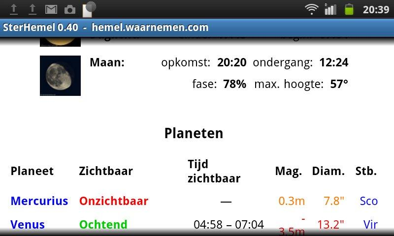 SterHemel- screenshot