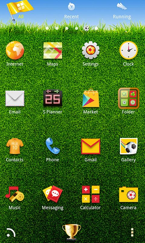 Football GO LauncherEX Theme - screenshot