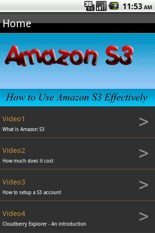 Amazon S3 How To Training