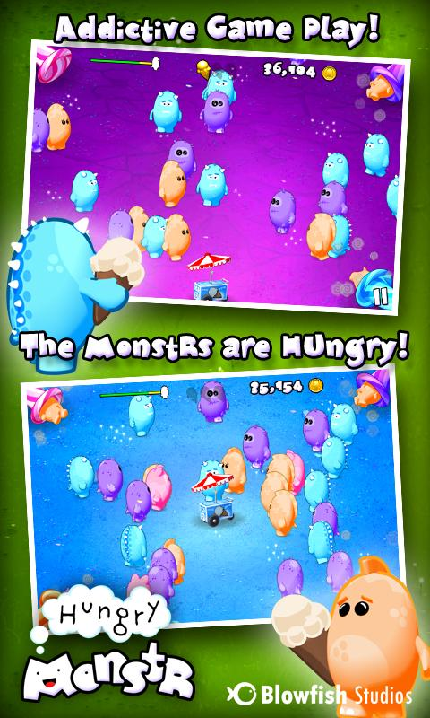Hungry MonstR- screenshot