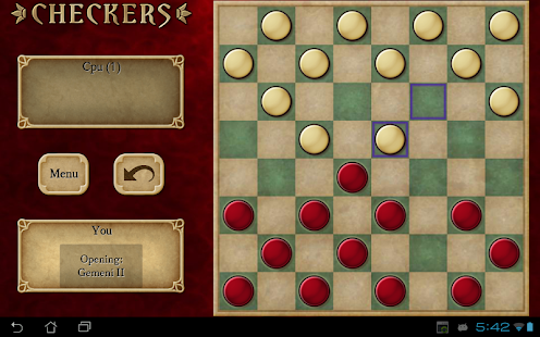 Checkers Free- screenshot thumbnail