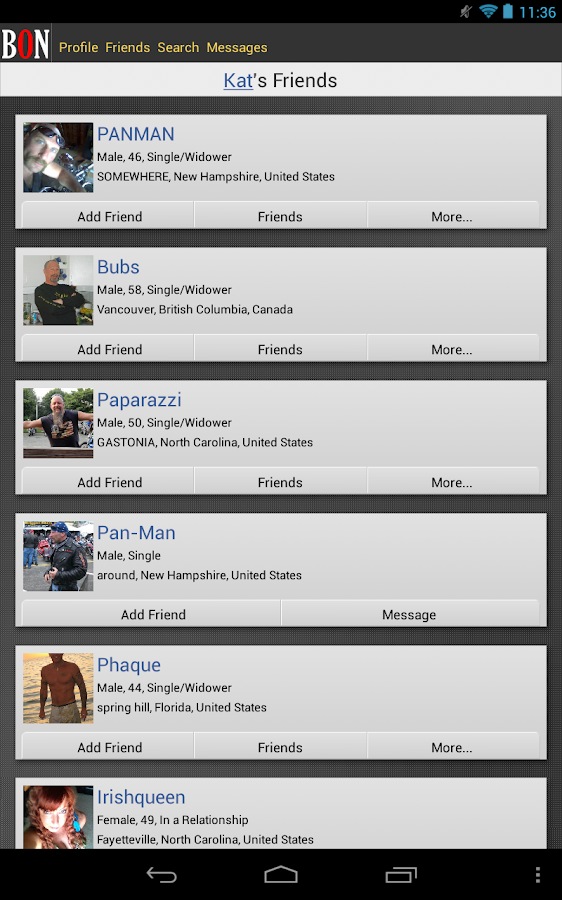 BikerOrNot - Where Bikers Meet - screenshot