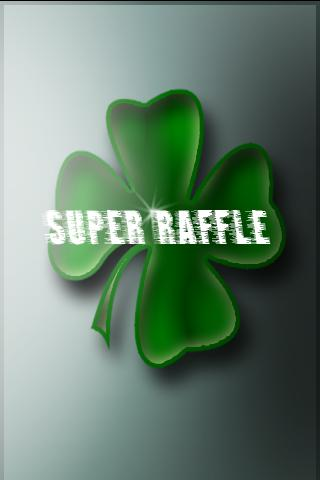 Super Raffle (sweepstakes) - screenshot