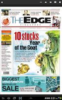 Screenshot of The Edge Singapore