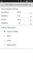 Screenshot of Total Station Cadastral Survey