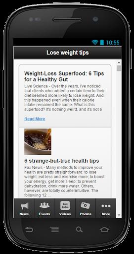 無料健康Appの体重のヒントを失う|記事Game