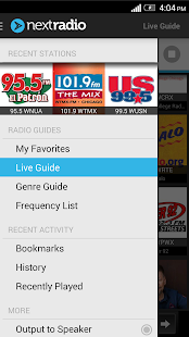NextRadio - Free FM Radio - screenshot thumbnail