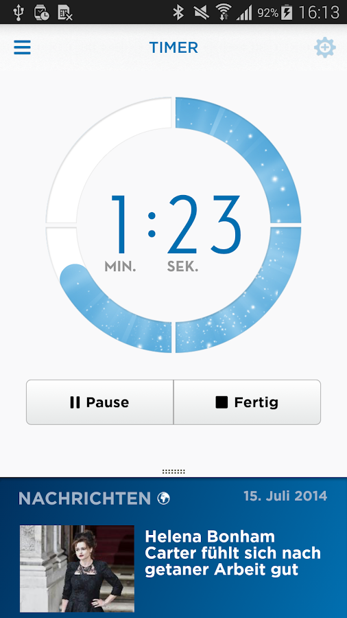 Oral-B App - screenshot