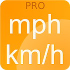 Speedometer mph kmh Simple PRO icon