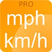 Speedometer mph kmh Simple PRO