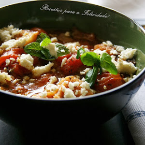 Tomato Soup with Cottage Cheese