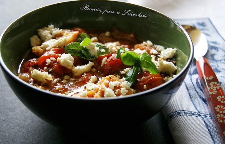 Tomato Soup with Cottage Cheese Recipe
