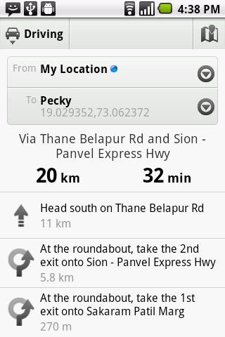 Droid Locator - screenshot