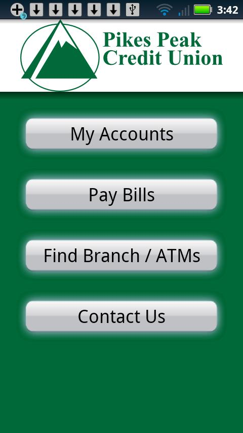 Pikes Peak Credit Union Mobile - screenshot