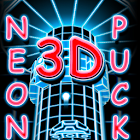 Neon Puck 3D - Free Limited icon