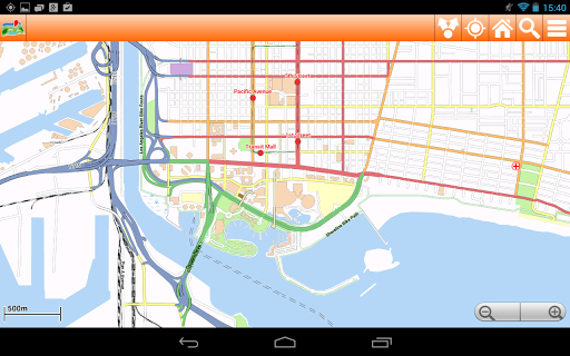 【免費旅遊App】Los Angeles Offline mappa Map-APP點子