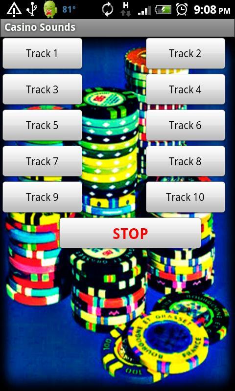 Gambling sound effects