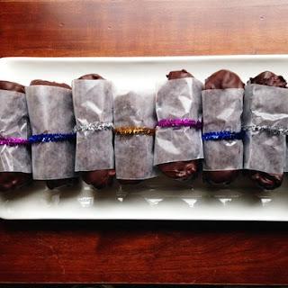 Dark Chocolate-Marcona Almond Paleo Candy Bars!