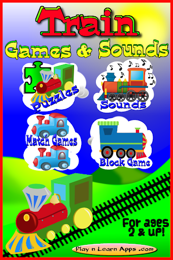 Train Sounds Games -Ad Free