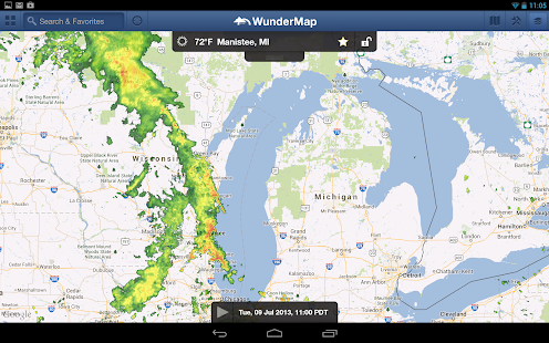 WunderMap - screenshot thumbnail