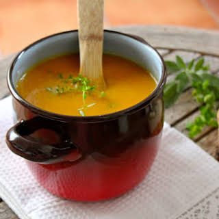 Carrot and Honey Soup.