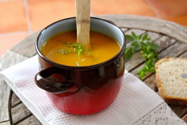 Carrot and Honey Soup Recipe