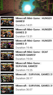 Hunger Minecraft Game Show