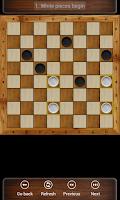 Screenshot of Russian checkers - Shashki