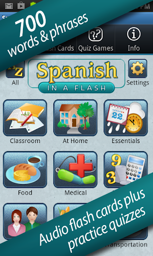 Spanish in a Flash