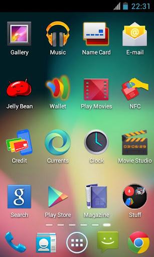 Jelly Bean Go Theme v1.1 Apk