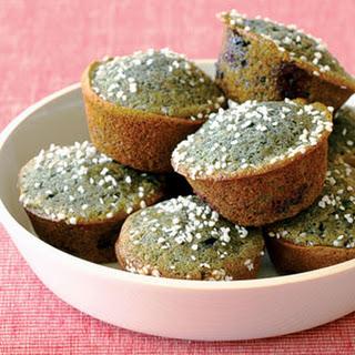Blue Corn-Blueberry Muffins.