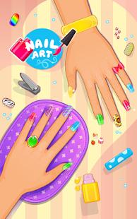 指甲藝術──沙龍遊戲
