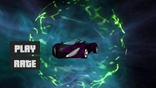 未来のヘビーマッスルカーの3D